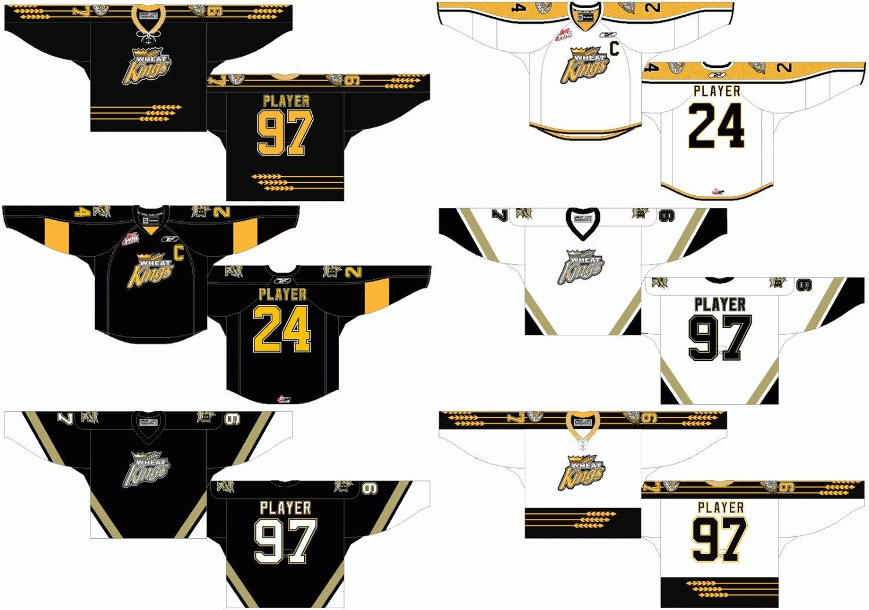 [Hot Item] Western Hockey League Brandon Wheat Kings Ice Hockey Jersey