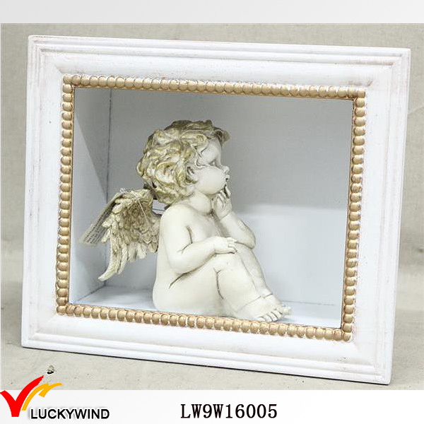 Deep Box Wall Decor Vintage French Wooden Shadow Box Frame