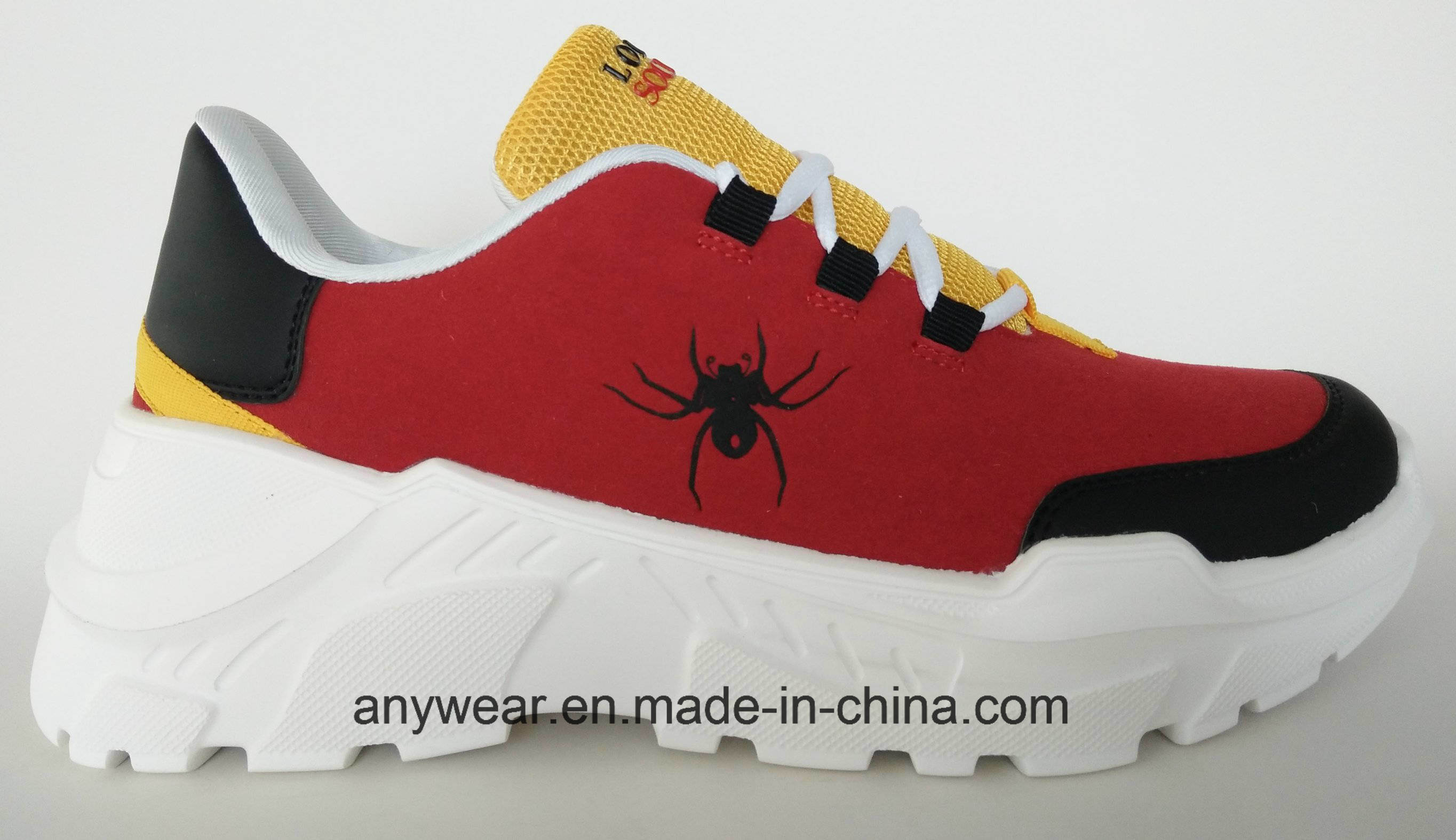 China Women Casual Shoes Ladies Sneaker