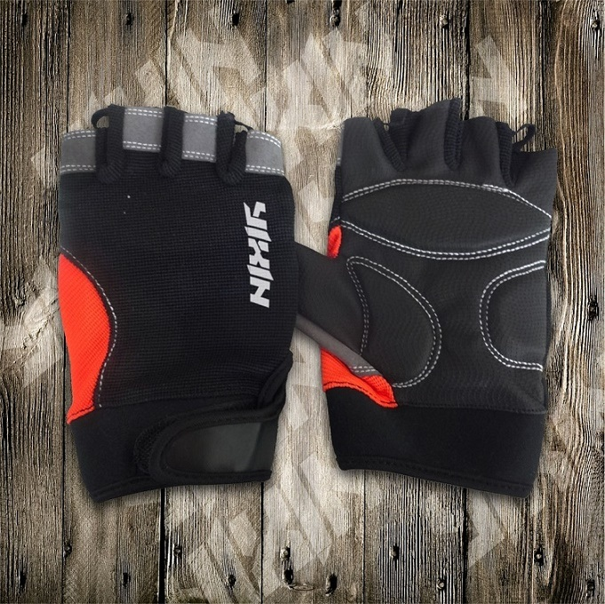 Riding Glove-Half Finger Glove-PU Gloves-Sporting Glove-Safety Glove pictures & photos