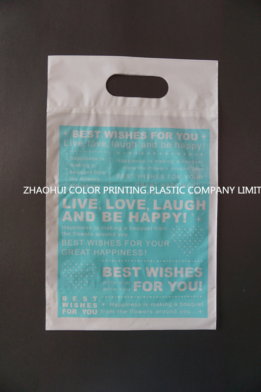 Die Cut Plastic Gift Bag