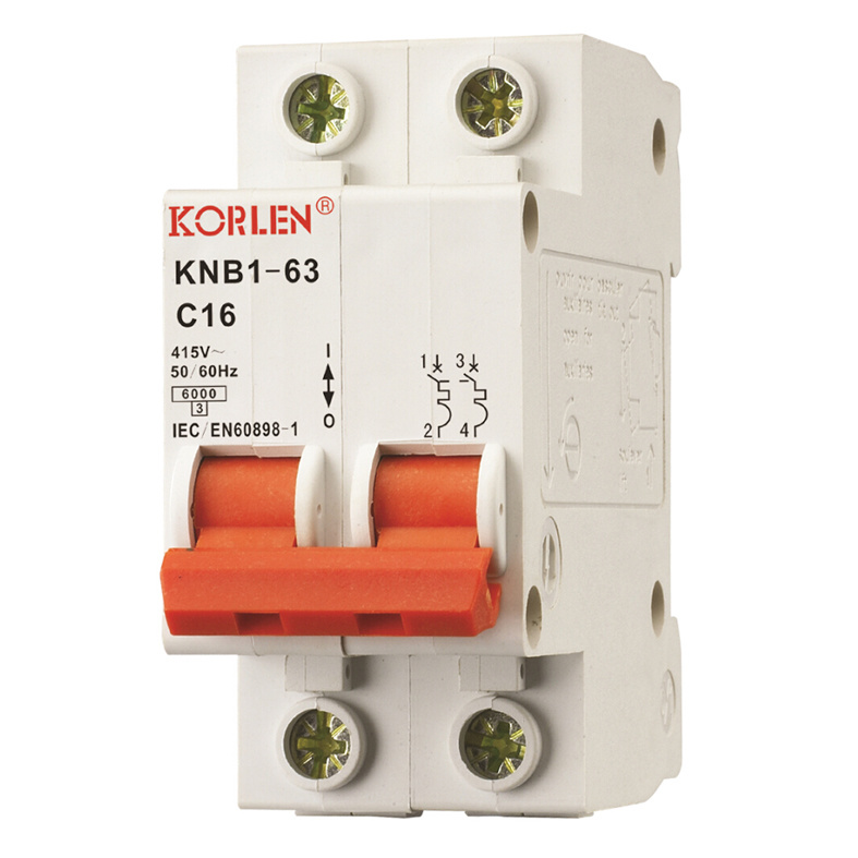 Knb1-63 High Quality Mini Circuit Breakers pictures & photos