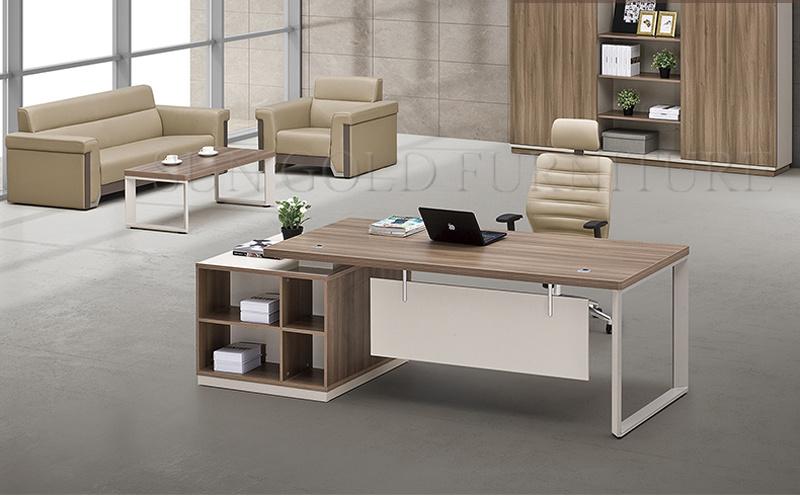 China Latest Executive Office Table Design Photos, Metal ...
