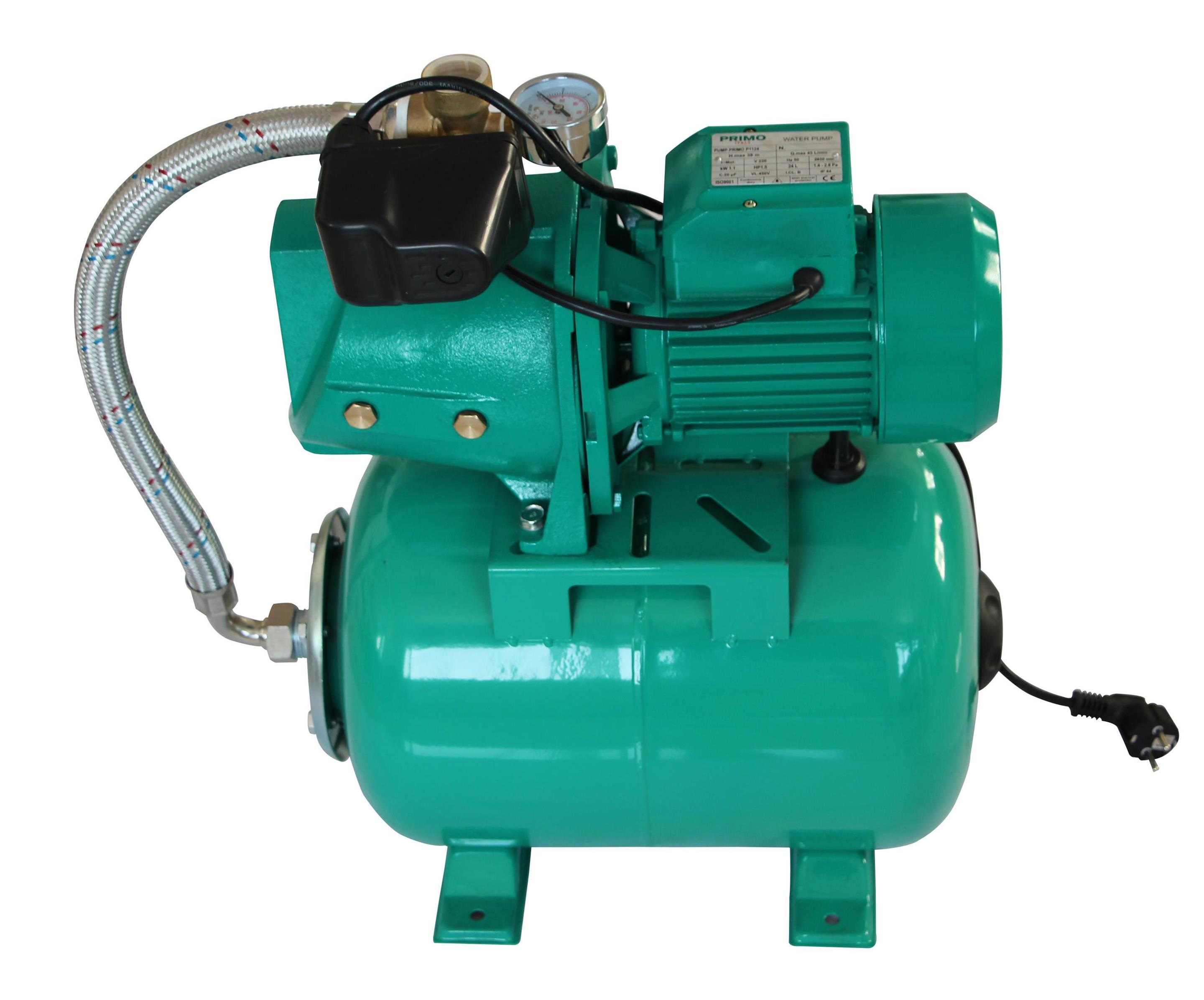 China AUJET electric water pressure booster pump with pressure tank ...