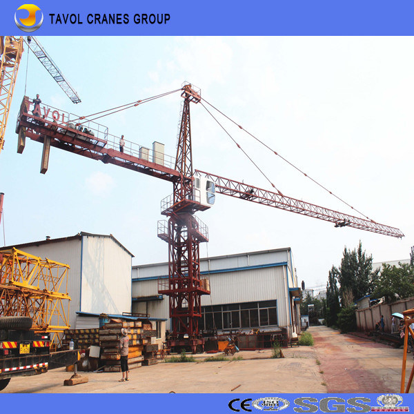 Qtz40-4808 4t Top Slewing Cranes Top Kit Tower Crane pictures & photos