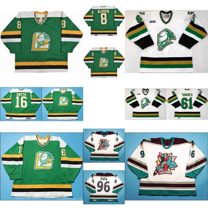 big sale e3d35 705d2 [Hot Item] Customize Ohl London Knights Jersey Jason Glover John Tavares  Hockey Jerseys