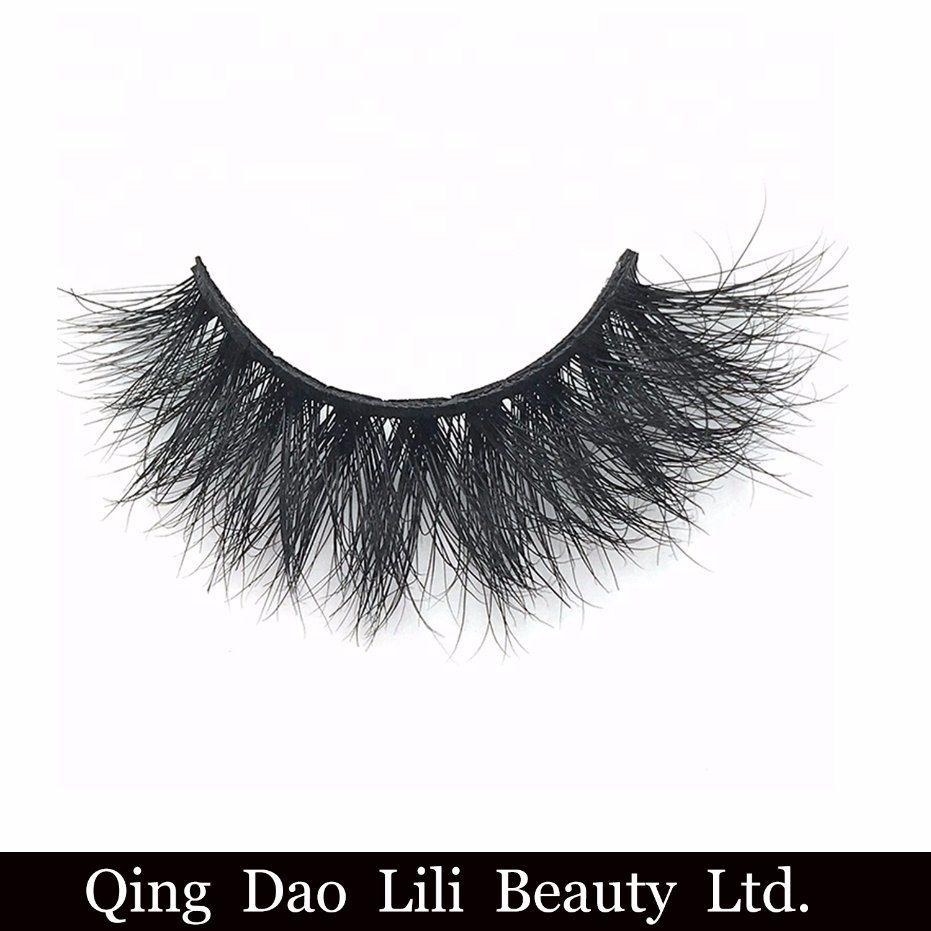 [Hot Item] Wholesale Private Label Eye Lashes 25mm 3D Mink Eyelashes Band  Mink Lashes Vendor