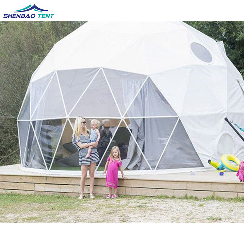 super popular 61793 d30ad [Hot Item] UV Resistant Glamping Geodesic Dome Soundproof Tent Prices