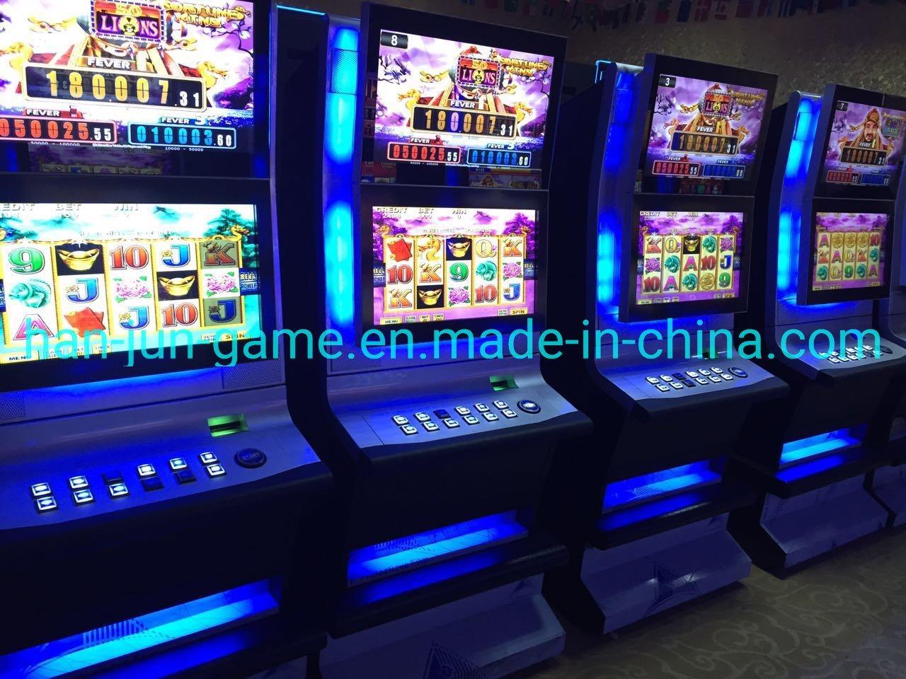 casino slot machine companies