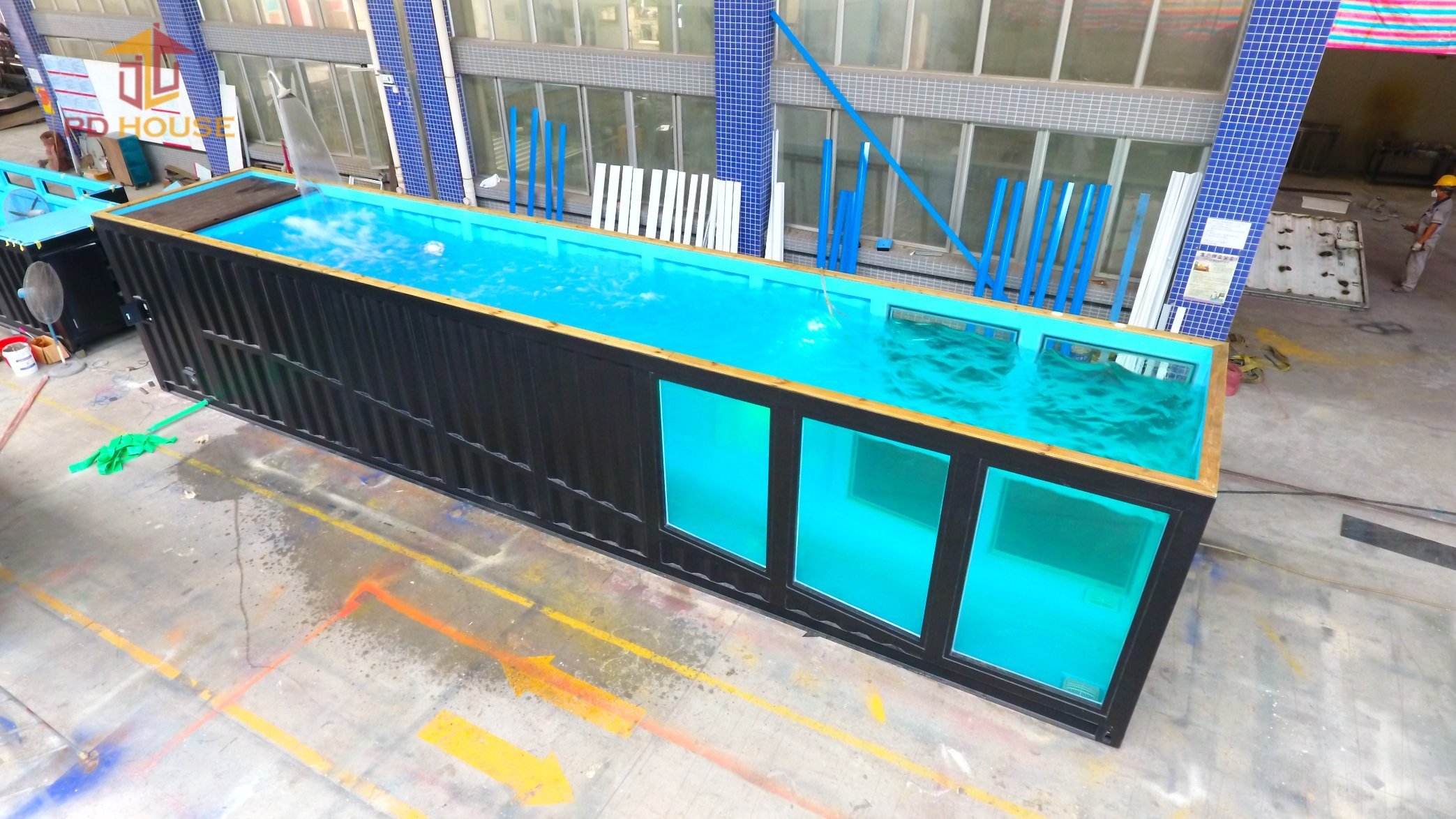 China Best Quality Low Price Custom Shipping Container Swimming Pool ...