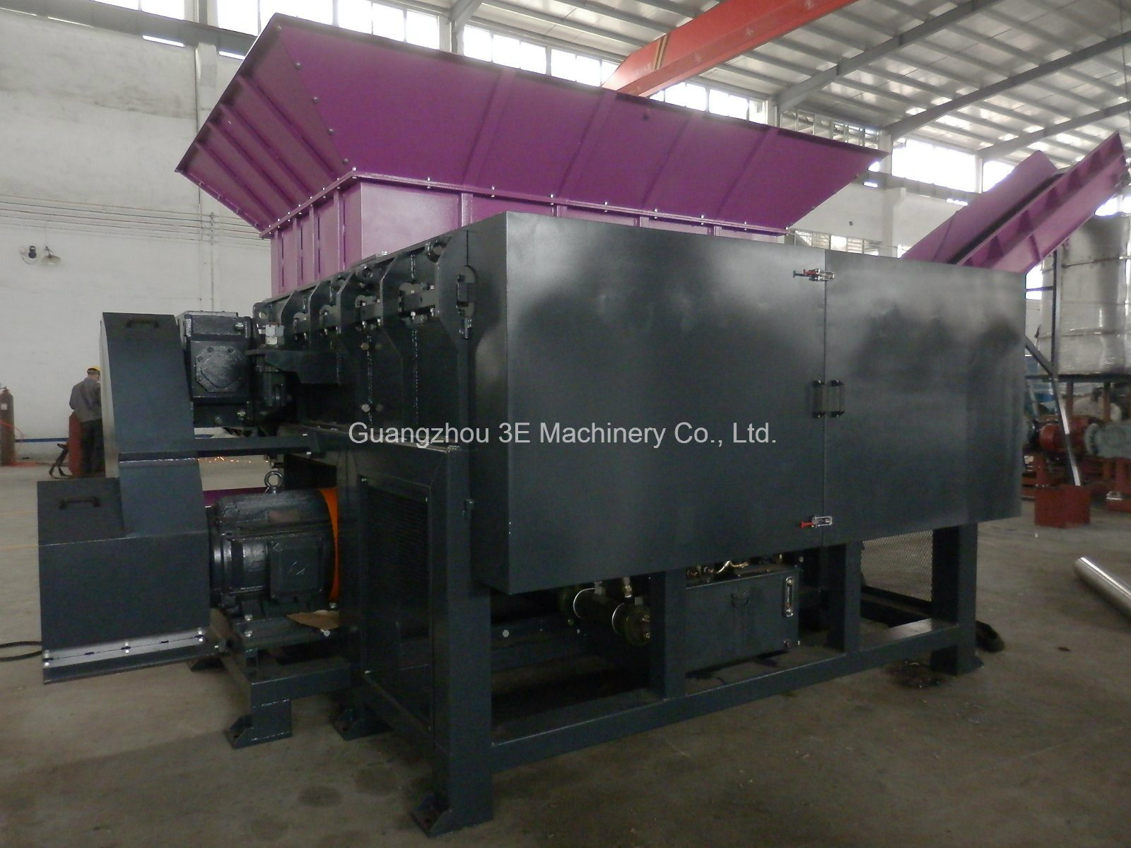 Plastic Shredder-Wt48 Series of Recycling Machine for Hard Plastic with Ce pictures & photos