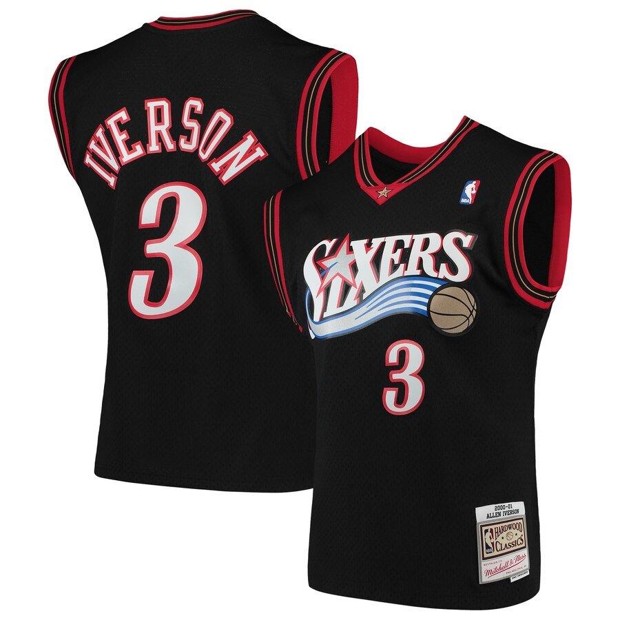 allen iverson 76ers jersey
