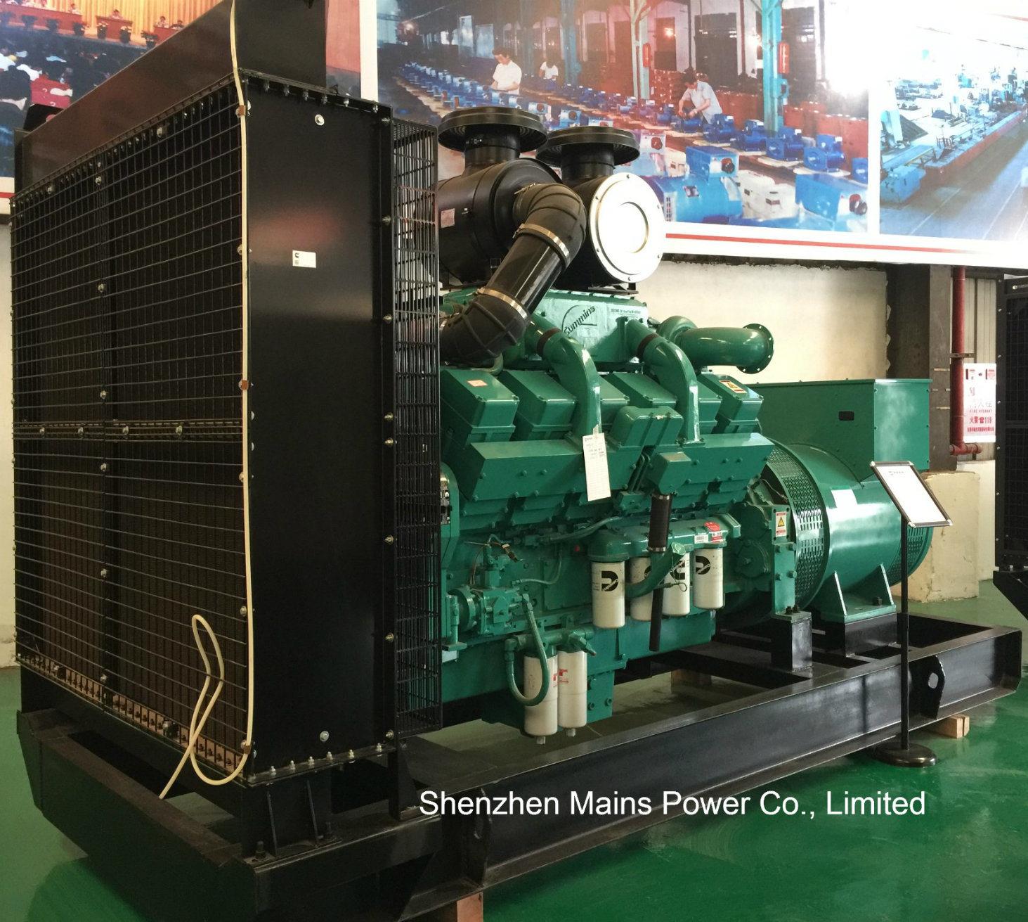 China 1000kVA 800kw Standby Rating Power Cummins Diesel Generator Power  Generation - China Cummins Generator, Diesel Generator