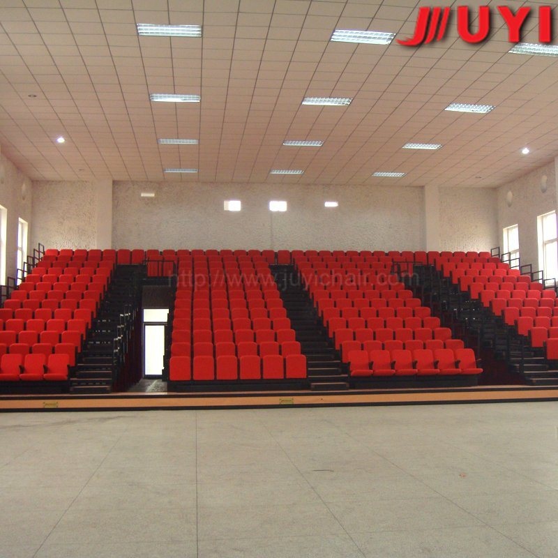 Jy-769 Wholesale Fire-Resistant Mobile Stage Retractable Gym Bleachers Telescopic Seating Arena