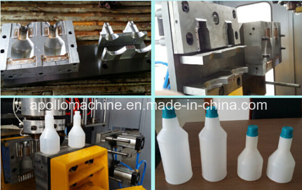 1L~5L HDPE/LDPE /PP Blow Molding Machine for Bottles Jerry Cans in Apollo pictures & photos