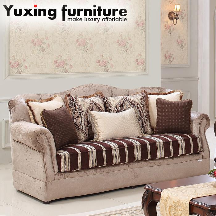 China Antique American Fabric Sofa Set for Living Room - China Sofa ...