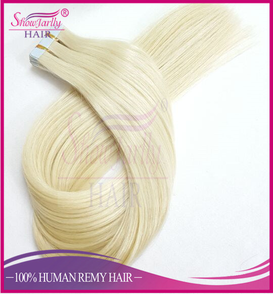 China Tape In Hair Extensions Best Quality Russian Hair Color 60