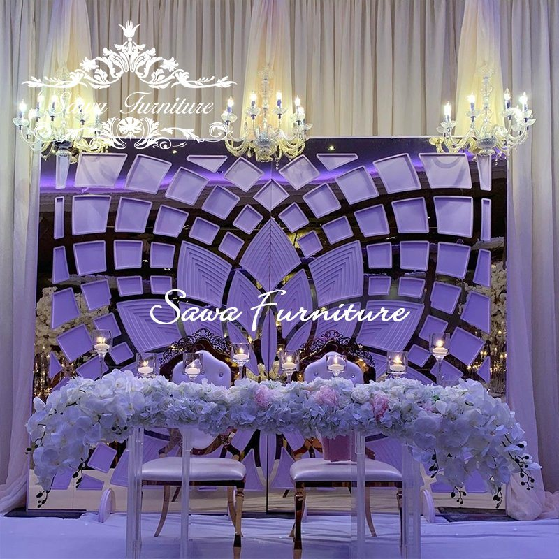 China Factory Wedding Stage Backdrop Best Event Wedding