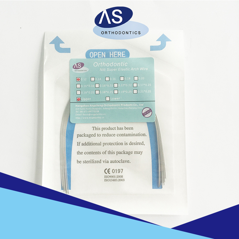 China Dental Orthodontic Wire Super Elastic Niti Arch Wire - China ...