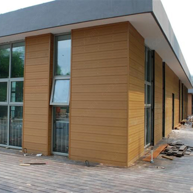 China Wpc Composite Wood Siding Waterproof Wall Panels Exterior Wood Wall Cladding China Wpc Wall Panel Wpc Wall Siding