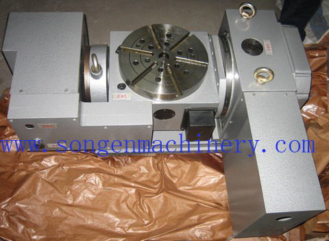 Table Diameter 170-630mm, Nc Controlled Tilting Rotary Table pictures & photos