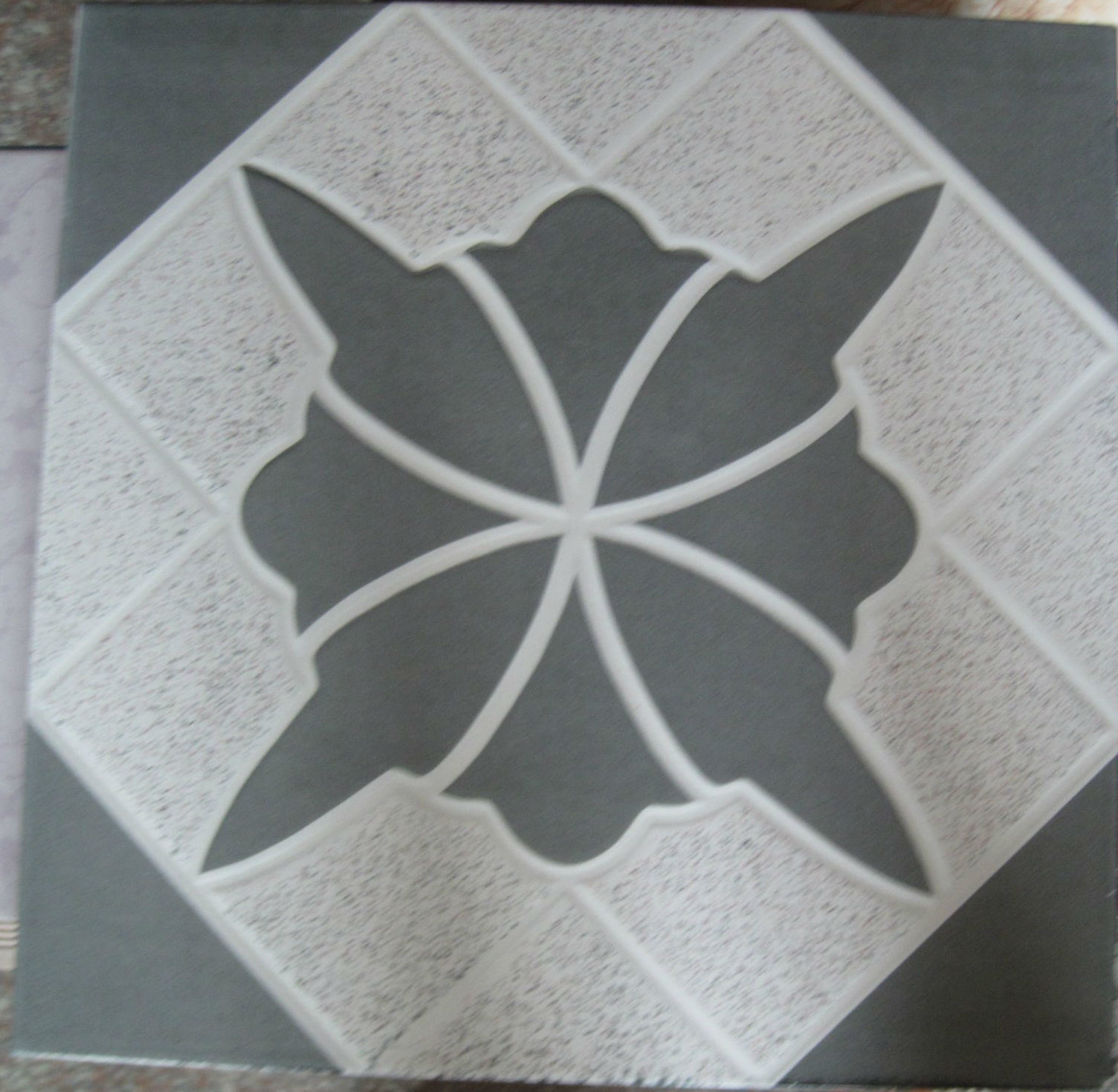 China Building Material Simple Marble Pattern Stone Look Ceramic