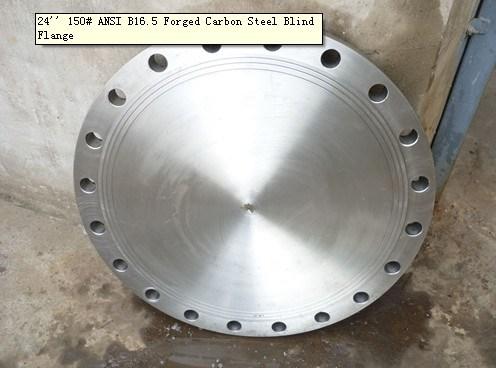 China Blind Flange 24 Inch 150lb Ansi B16 5 Forged Carbon