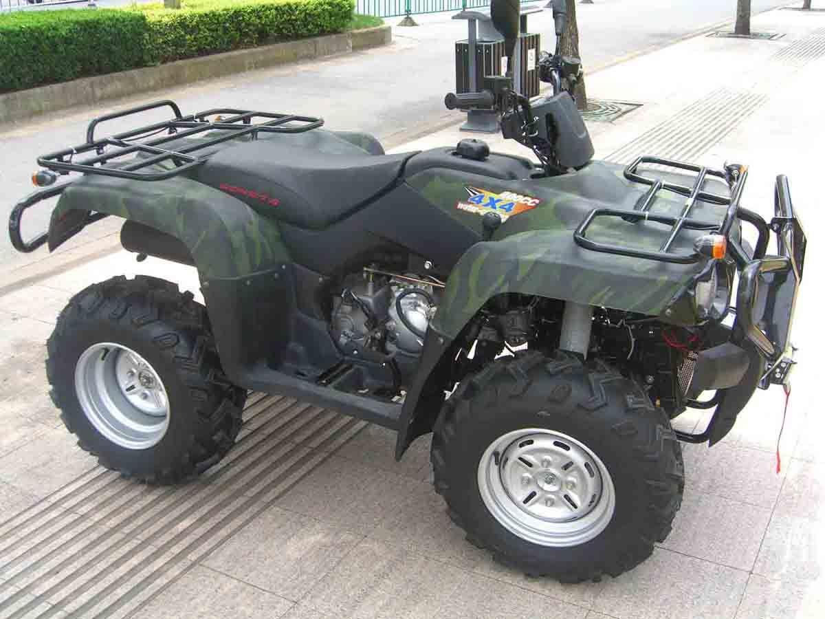 [Hot Item] Chain Drive Transmission System 4 Stroke Engine Type 400cc Quad  ATV