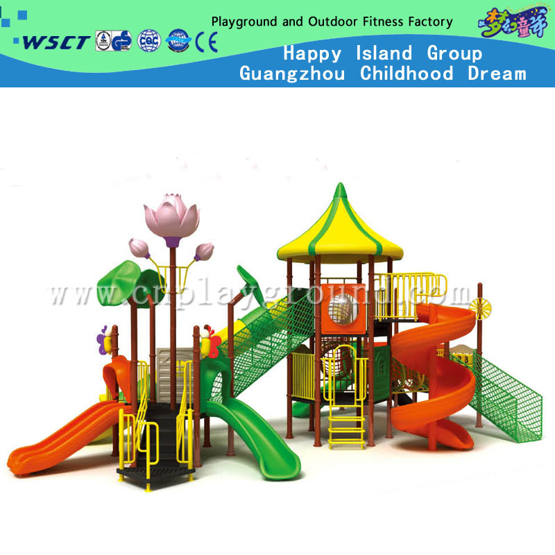 Promotion Playground Equipment for Outdoor Playground with Lotus Flower (HC-10201) pictures & photos
