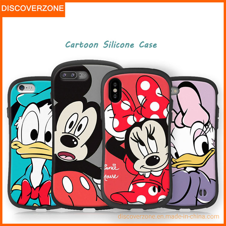 China Small Waist Creative Silicone Cartoon Mobile Phone Cases Cute Cellphone Cover China Phone Case And Mobile Phone Cases Price