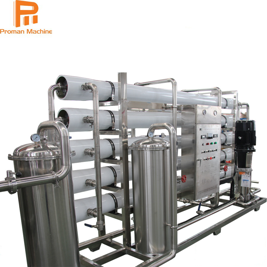 Automatic Hydranautics Brand Membrane RO Systems Water Filter Making Machine