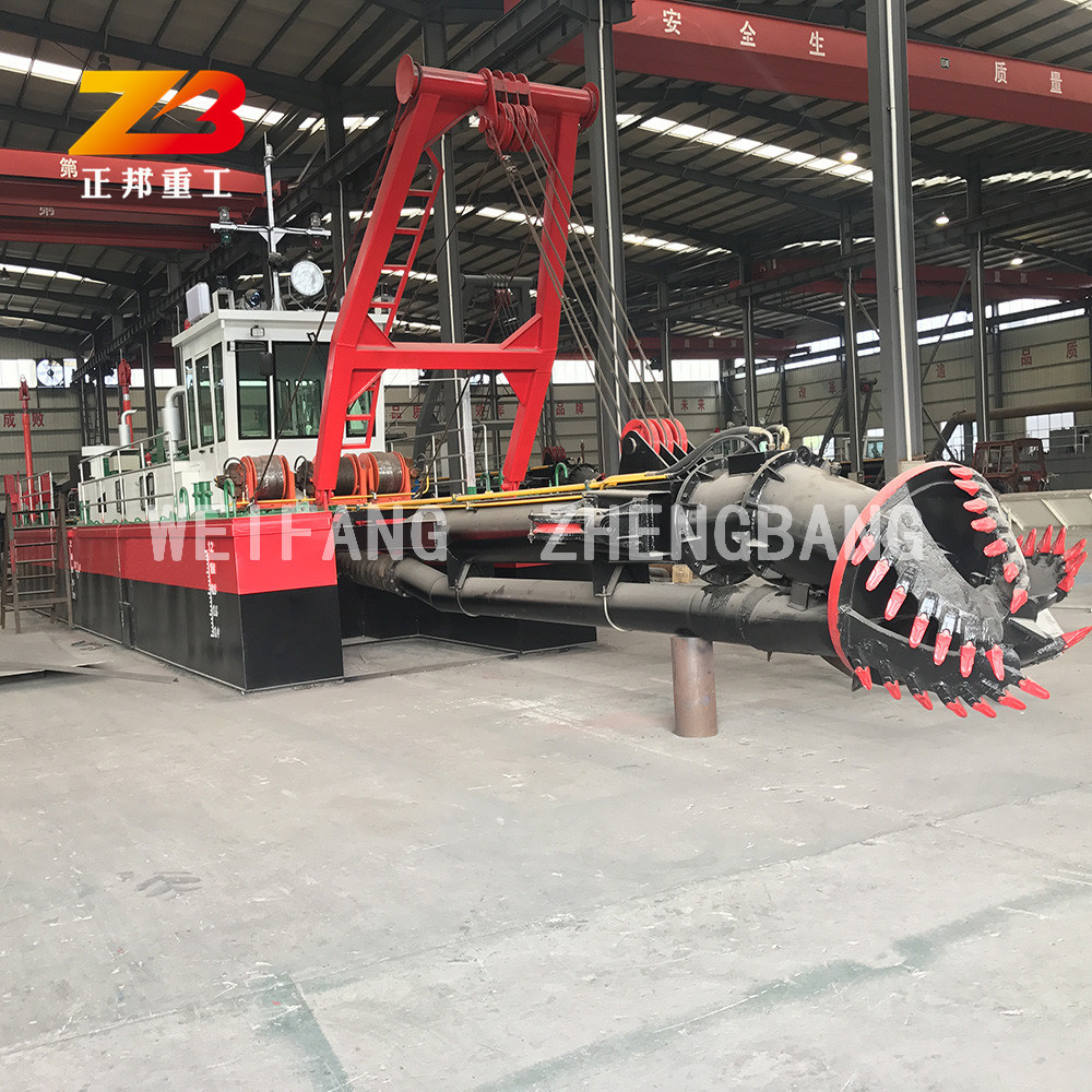 China 10 Inch River Sand Suction Dredge/Cutter Suction ...