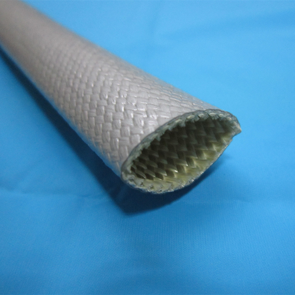 China Silicone Rubber Coated Fiberglass High Heat Resistant Wire ...