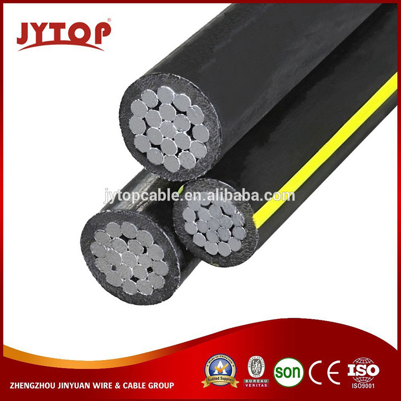 China Secondary Type Urd Cable Aluminum Conductor Triplex ABC Aerial ...