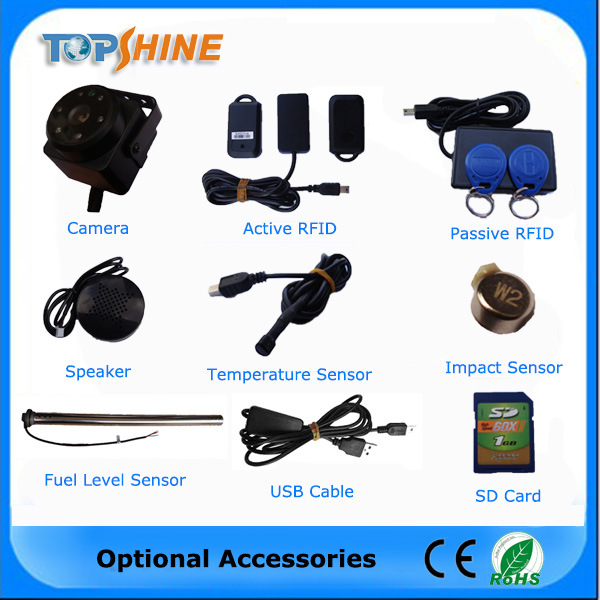 High Sensitive Multifunction GPS Tracker with RFID 4 Fuel Sensor pictures & photos