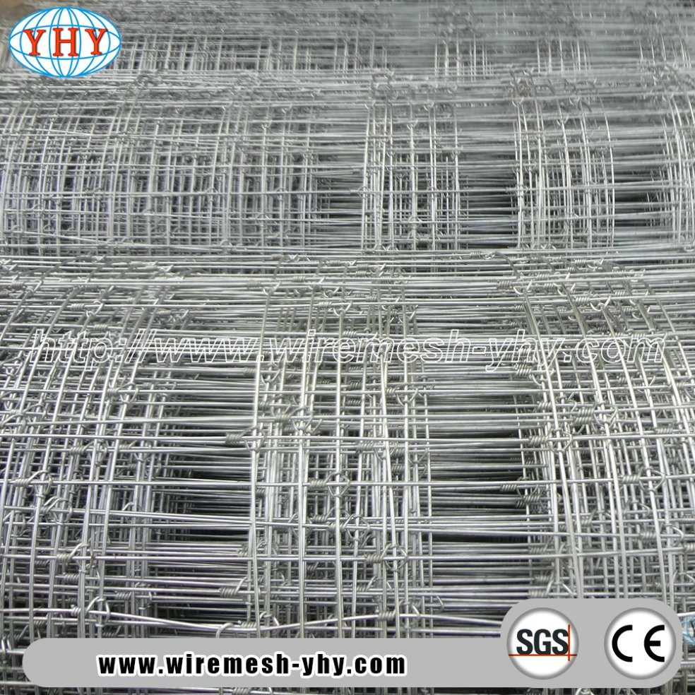 China Hot Galvanized High Tensile Steel Wire 6FT High Grassland ...