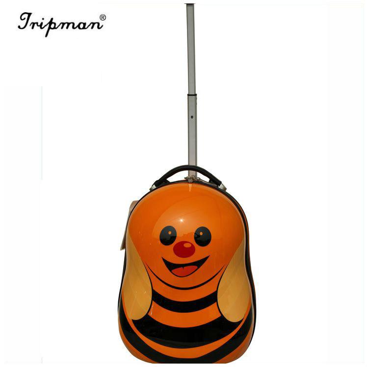 a61ae7b1ef257 Cute Bee Hotselling Kids Trolley School Bag