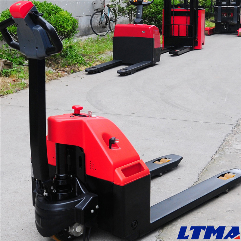 Warehouse Equipment 2 Ton Electric Pallet Truck Hand Pallet Jack pictures & photos