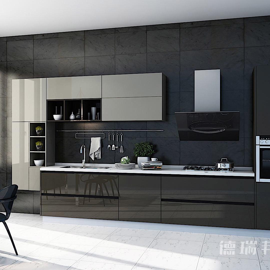 China Laminate Board/Wood Grain Laminate Kitchen Cabinets