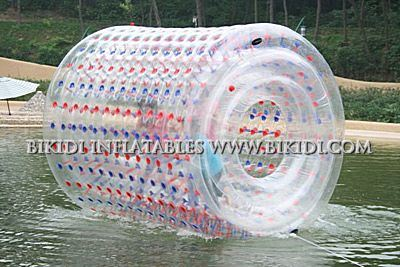 Home Appliances Kitchen Appliance Parts Transparent Giant Cylinder Human Water Bubble Ball Pvc Floating Roller