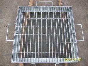 China Hebei Jiuwang Hot DIP Galvanized Metal Drain Covers