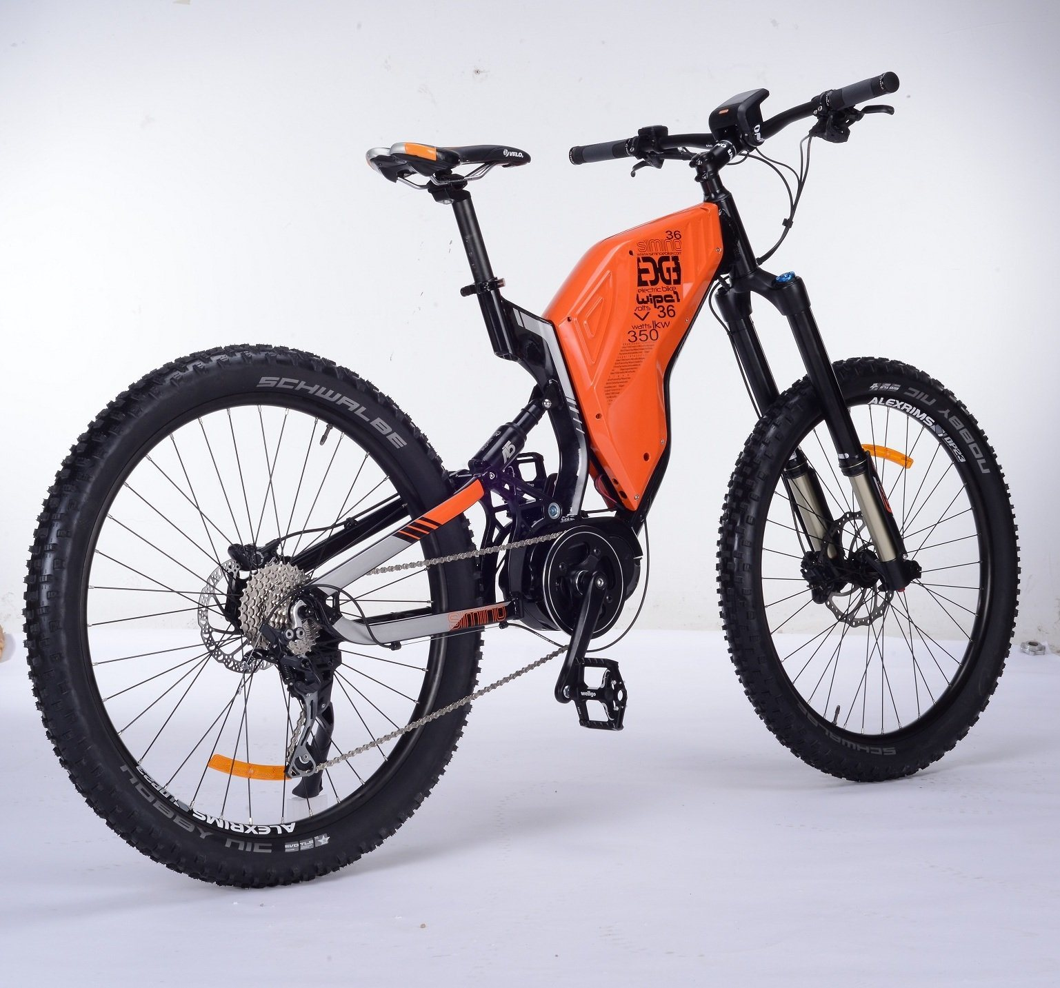 Bafang Mid Drive Motor Electric Bike Mountain For