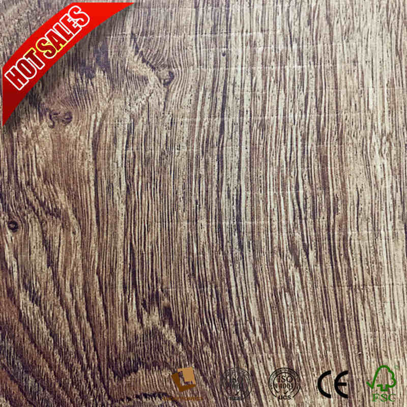 China U Groove Canadian Oak Laminate Flooring Hardwood Building Material