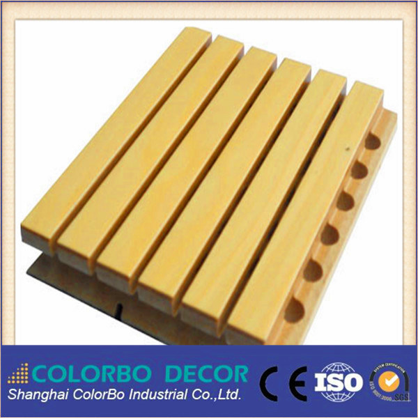 MDF Microporous Wooden Acoustic Panel Soundproofing Materials