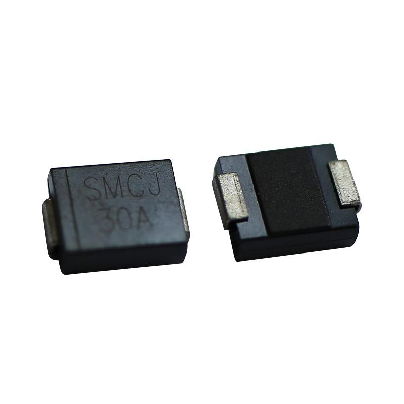 TVS DIODE 75V 121V DO214AB Pack of 100 SMCJ75CA-TP