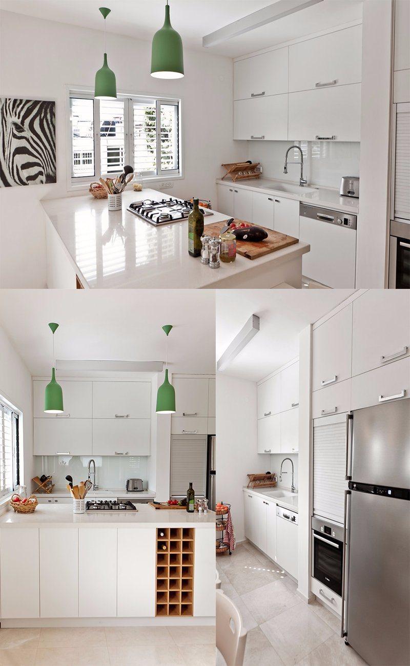 Australia Style White Color L Type Kitchen Furniture Home Acs2 L225