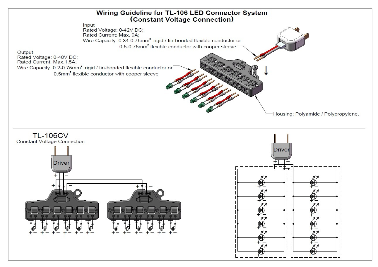 China Led Connector System For Parallel And Series Connection Photos Circuit