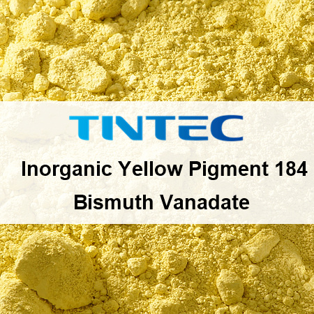 739d7473c89b Inorganic Yellow Pigment 184 for Almost All Plastics and Coating Industries