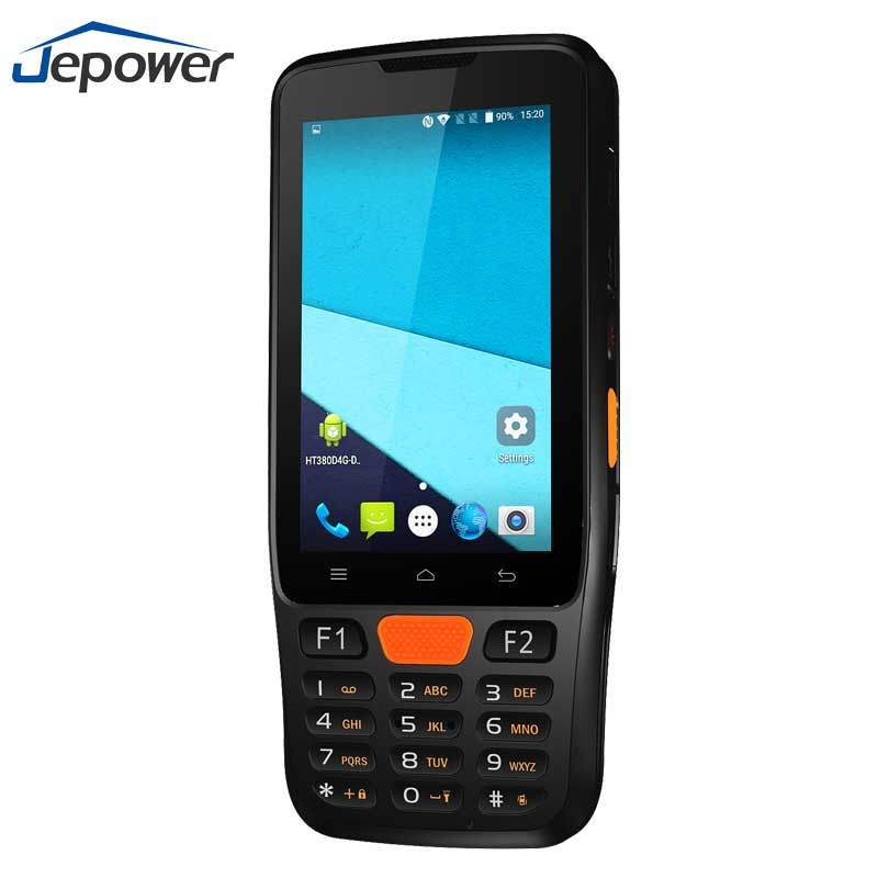 [Hot Item] Android 6 0 Portable Data Collector 1d PDA Wireless Handheld 2D  Barcode Scanner