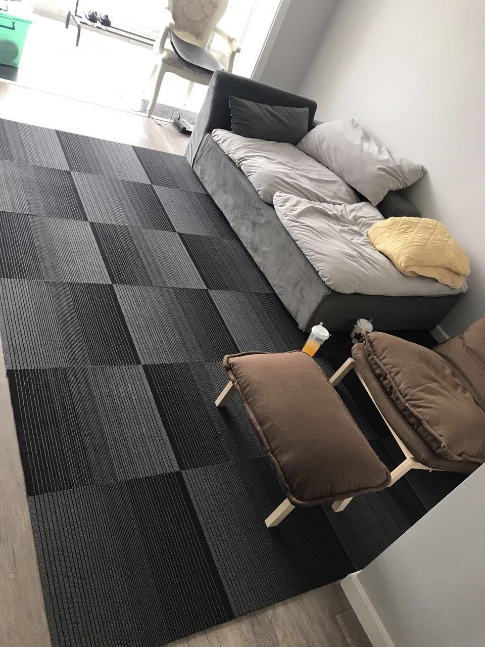 Image of: China Factory Whaolesales Pvc Carpet Tiles Modular Carpet Commercial Hotel Home Office Carpet Tile Floor Carpet China Stripe Carpet And Commercial Carpet Price